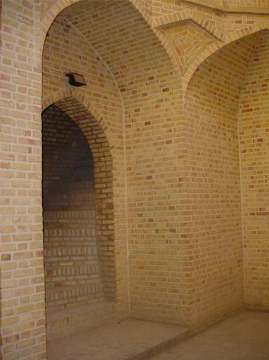 Alexander's Prison Cellar and Stairs - Yazd / 18th October 2001