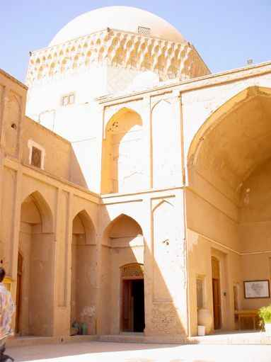 Alexander's Prison's Court-yard and Dome - Yazd / 18th October 2001