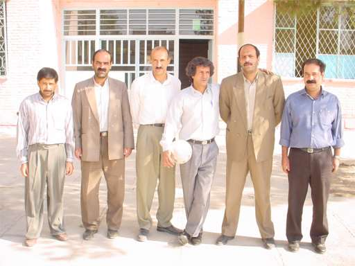 Azadi High School Principle and Partial Staff - Yazd 18th October 2001