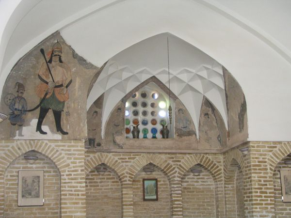 Interior Khan's Bath Tea House - Yazd by Reza Salehi & Sanam Kashfi / 2005