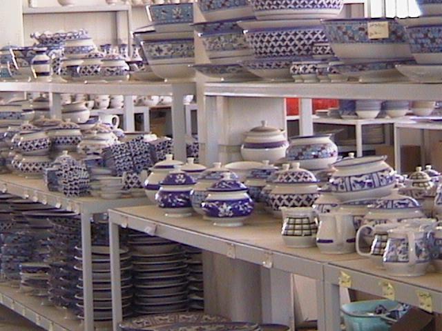 Pottery Work Shop - Maybod, Yazd 2002, by Behnaz Jalili