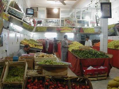 Interior View Fruits Shop - Yazd, Husein Hemmati