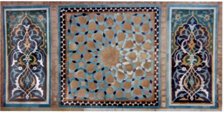 Jamea Mosque tile work