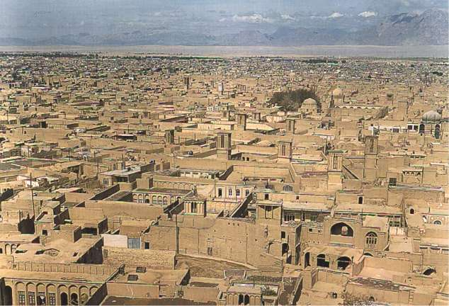 Yazd city view