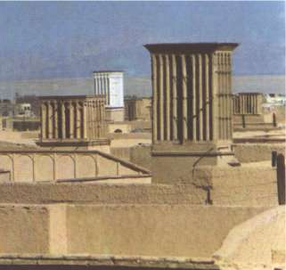 Wind towers (Badgir) - Yazd