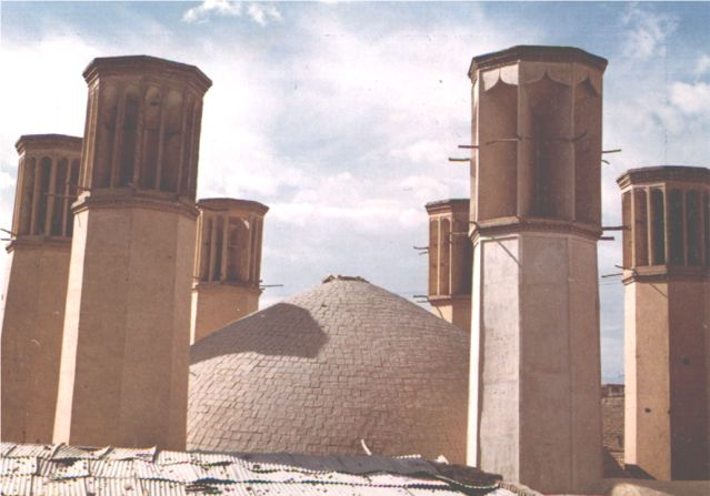 Water Storage (Ab-anbar) with six wind 