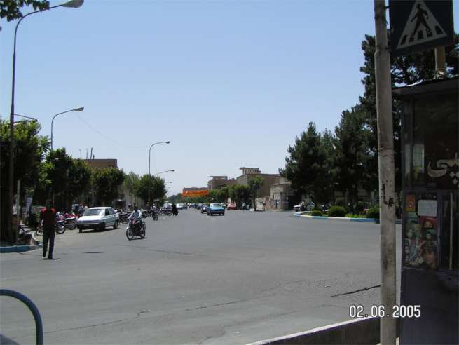 Street and square view - Yazd Husein Hemmati June 2nd 2006