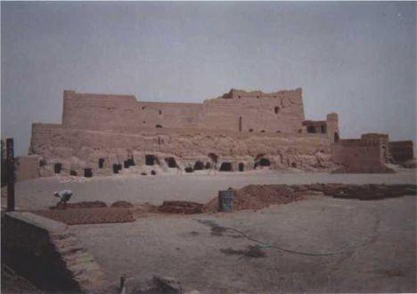 Naren Rampart Restoration Work - Meybod,  Yazd 2001