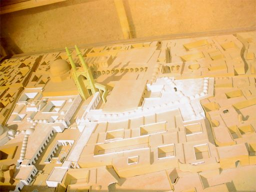 Mock-up of old Yazd at Alexander's Prison - Yazd / 18th October 2001
