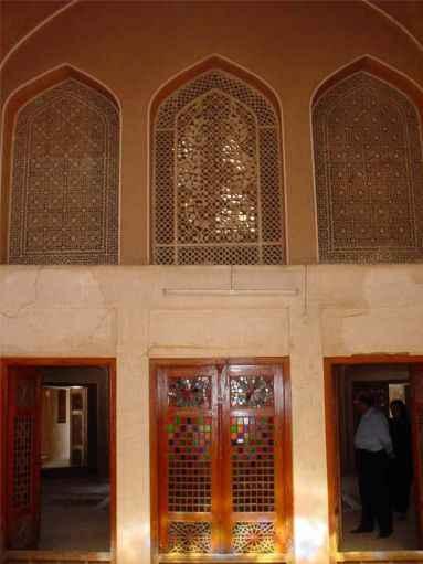 Dowlatabad Garden's Doorways and Windows - Yazd / 19th October 2001