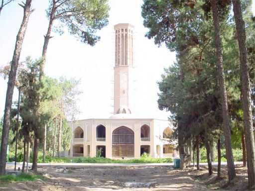 Dowlatabad Garden Main Building - Yazd / 19th October 2001
