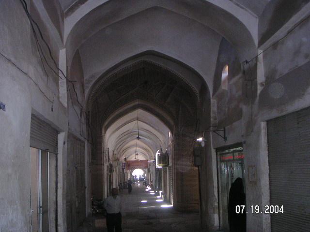 Bazaar Corridor - Yazd by Husein Hemmati July 2004