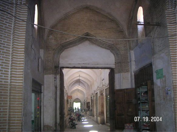 Bazzar Alley View - Yazd by Husein Hemmati July 2004
